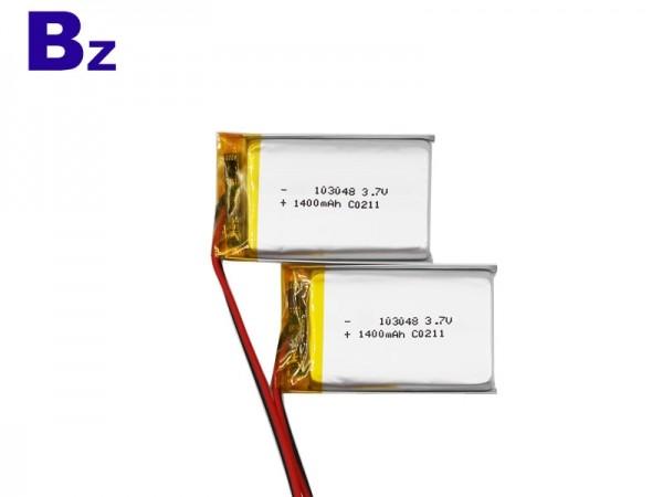 디지털 배터리 - BZ 103048 - 3.7V - 1400mAh - 리튬 폴리머 배터리 - 충전식