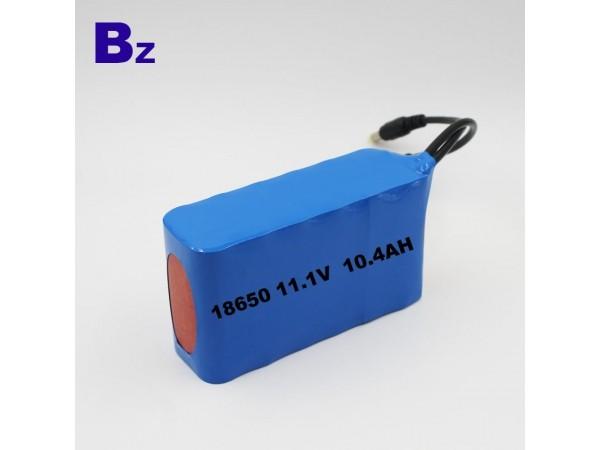 원통형 배터리 팩 - BZ 18650 3S4P - 10.4Ah - 11.1V - 리튬 이온 폴리머 배터리