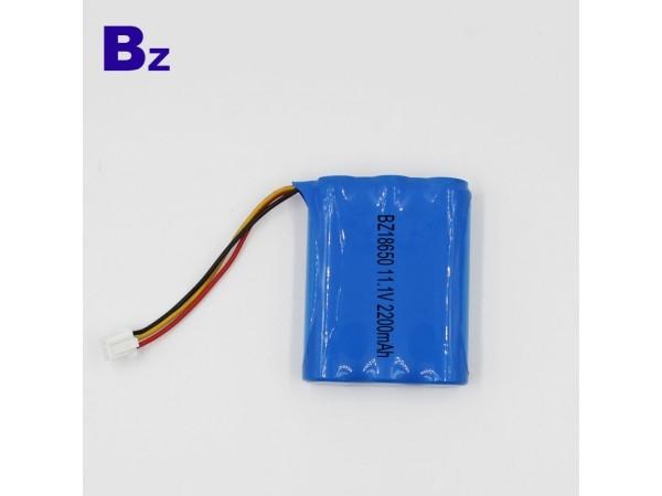 원통형 배터리 - BZ 18650 3S - 2200mAh - 11.1V - 1.5C - 리튬 이온 폴리머 배터리