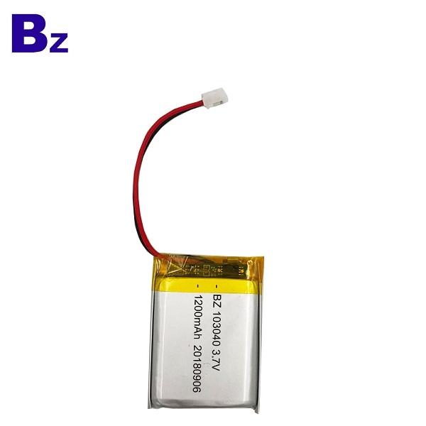1200mAh KC 인증 리튬 폴리머 배터리