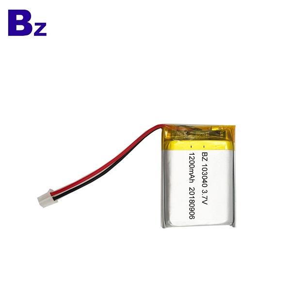 3.7V KC 인증 리튬 폴리머 배터리