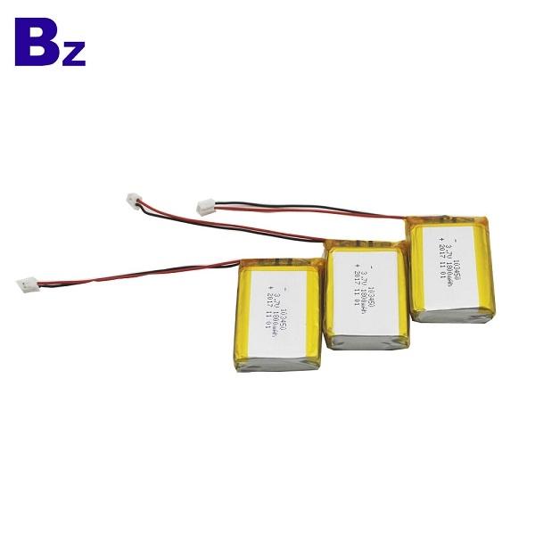 중국 리튬 배터리 제조 업체 도매 BZ 103450 1800mah 3.7V Lipo 배터리