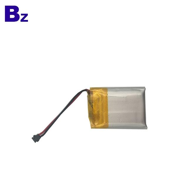 250mAh 3.7 v 충전식 리튬 폴리머 배터리
