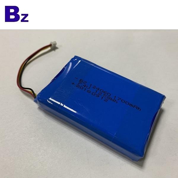 CB 인증을받은 7.4V 1700mAh 리튬 배터리