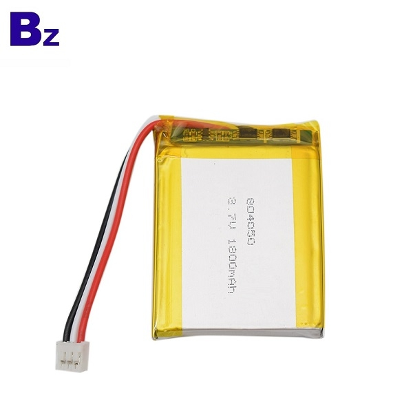 804050 1800mAh 3.7V LiPo 배터리