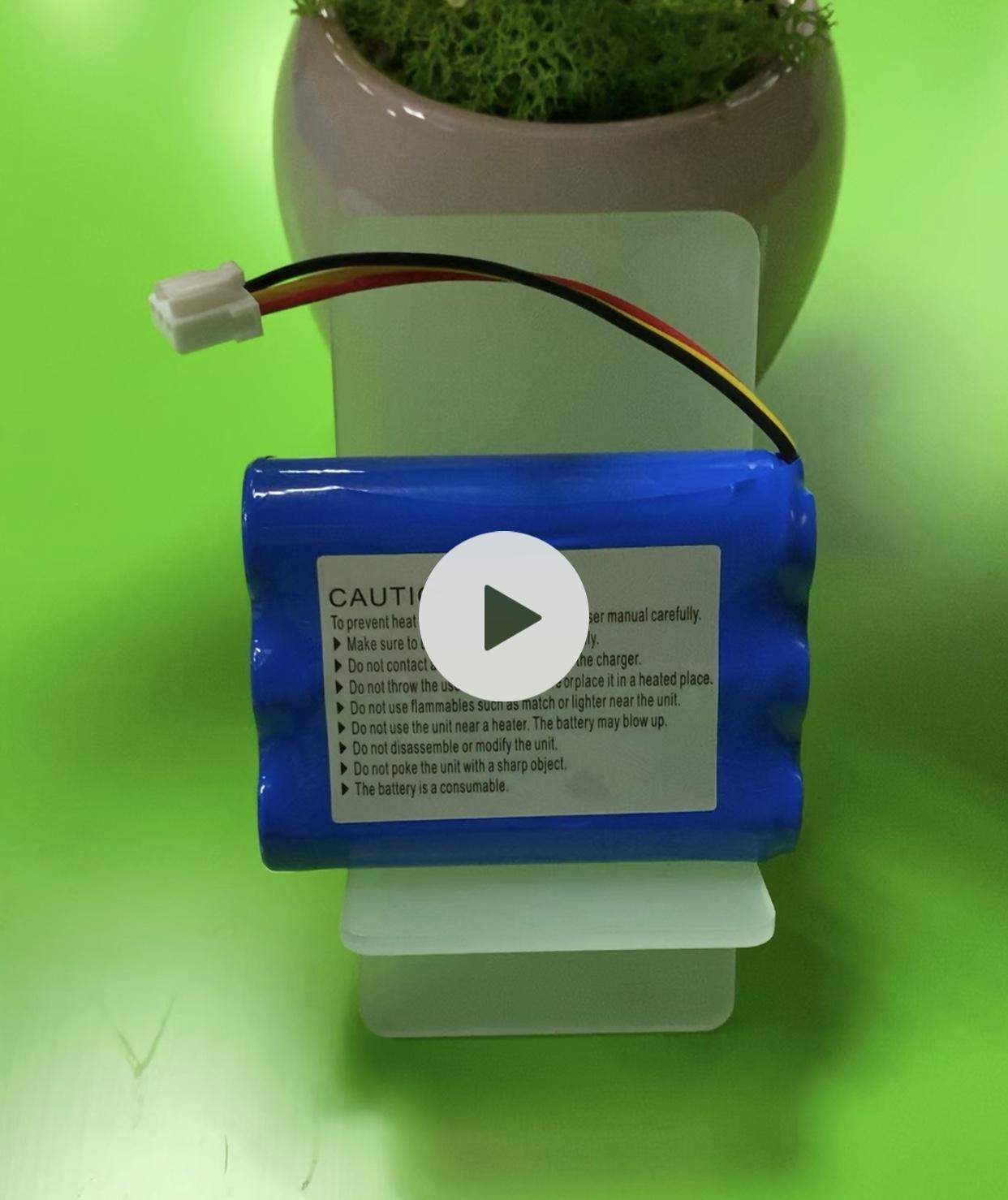 18650-3S 2200mAh 11.1V 1.5C KC 인증서가있는 원통형 리튬 이온 배터리